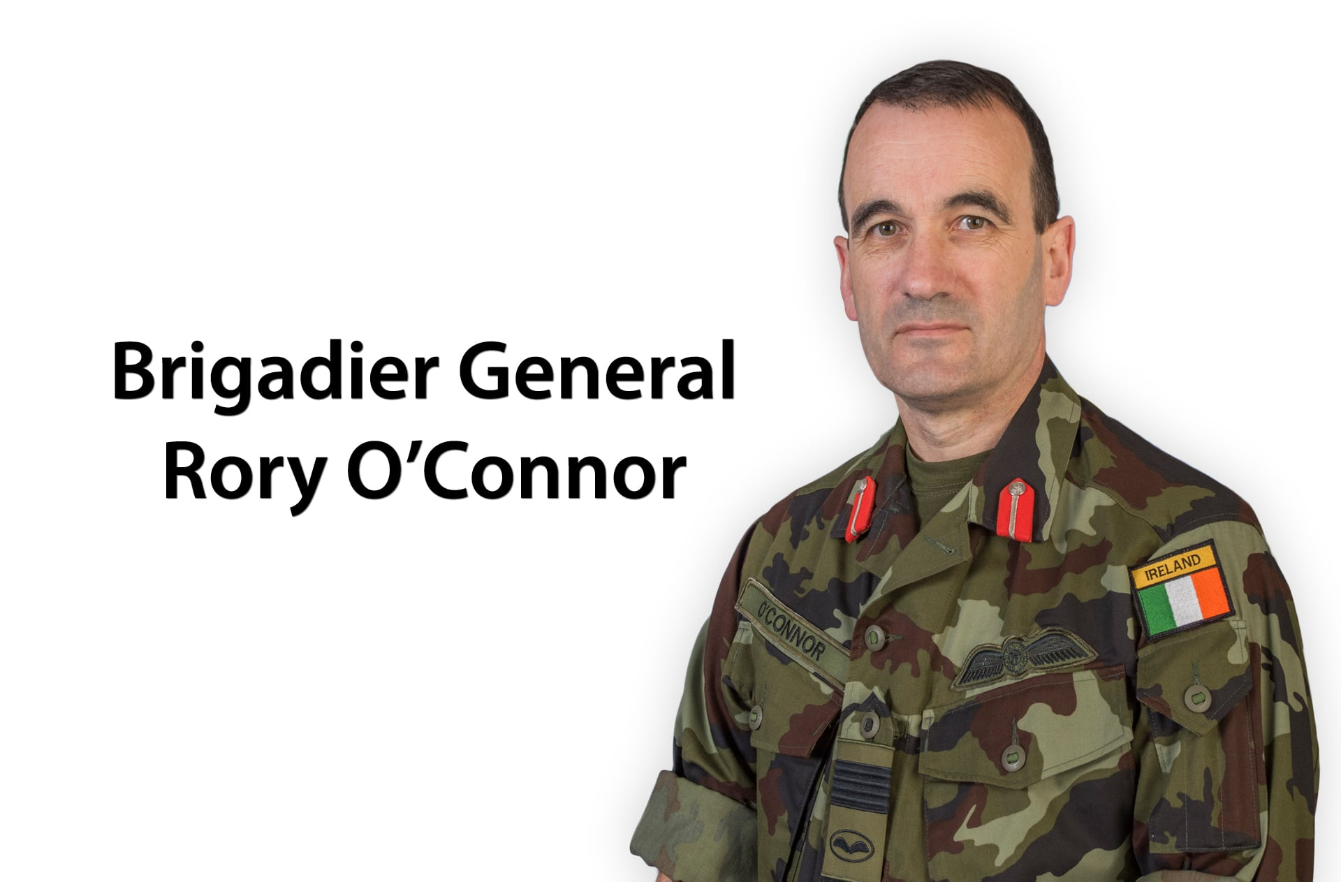 GOC AC Rory O'Connor